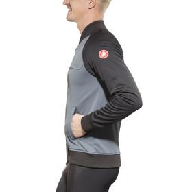 Castelli Meccanico Track Jacket Men turbulence/vintage black